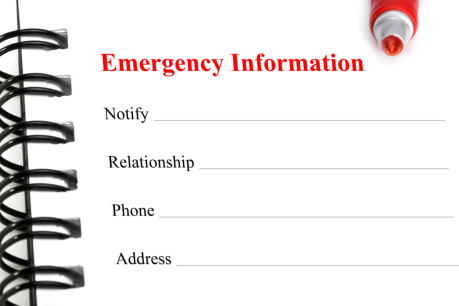 Who You Should Put in Your Emergency List